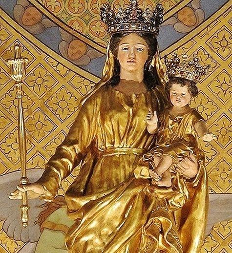 statue de Notre-Dame du Refuge - Anglet
