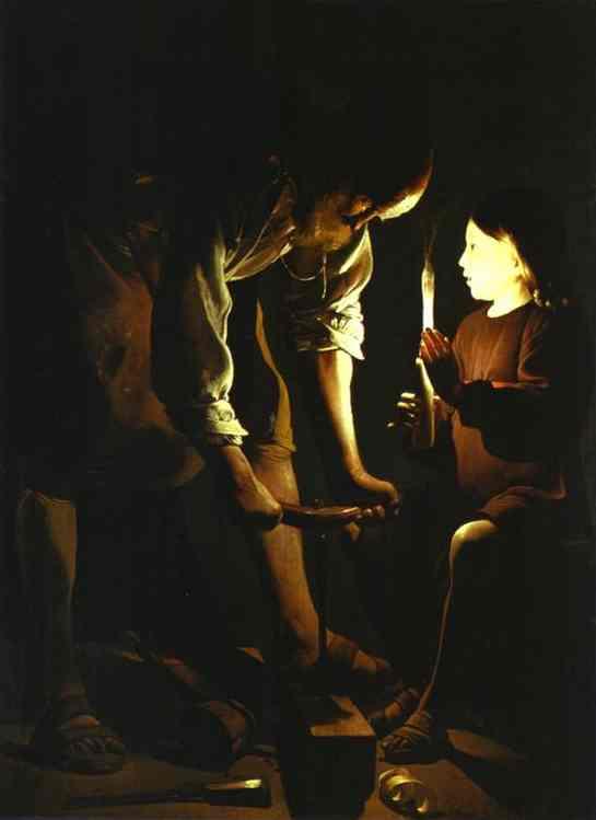 St Joseph charpentier (Georges de La Tour)