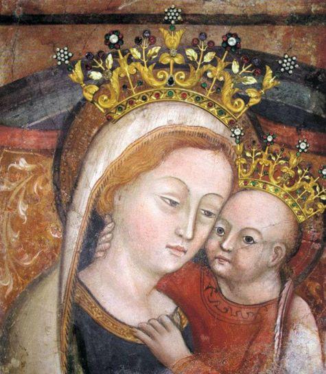 sainte image de Notre-Dame du Bon Conseil