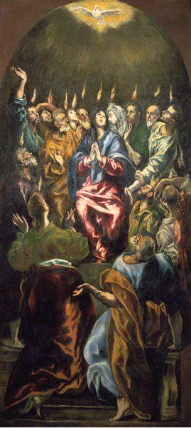 La Pentecôte (El Greco)