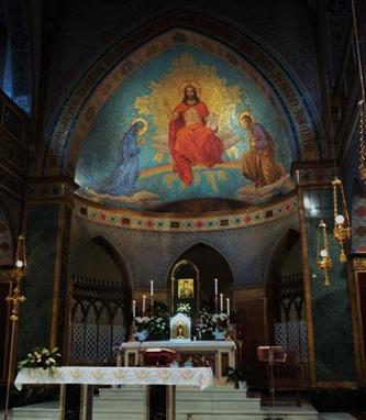2008-32. De l'icône miraculeuse de Notre-Dame du Perpétuel Secours. dans De liturgia eglise-st-alphonse-via-merulana-interieur