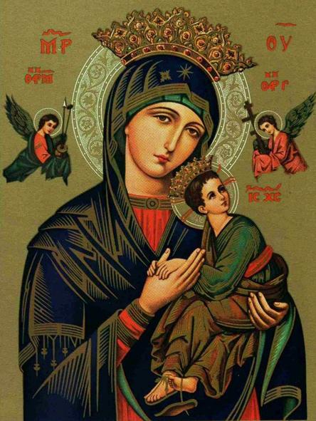 Litanies de Notre-Dame du Perpétuel Secours. dans De Maria numquam satis notre-dame-du-perpetuel-secours