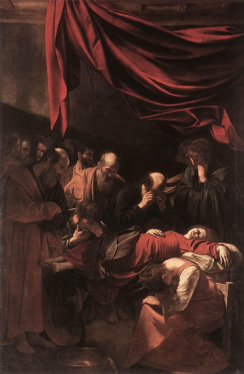 la mort de la Très Sainte Vierge.