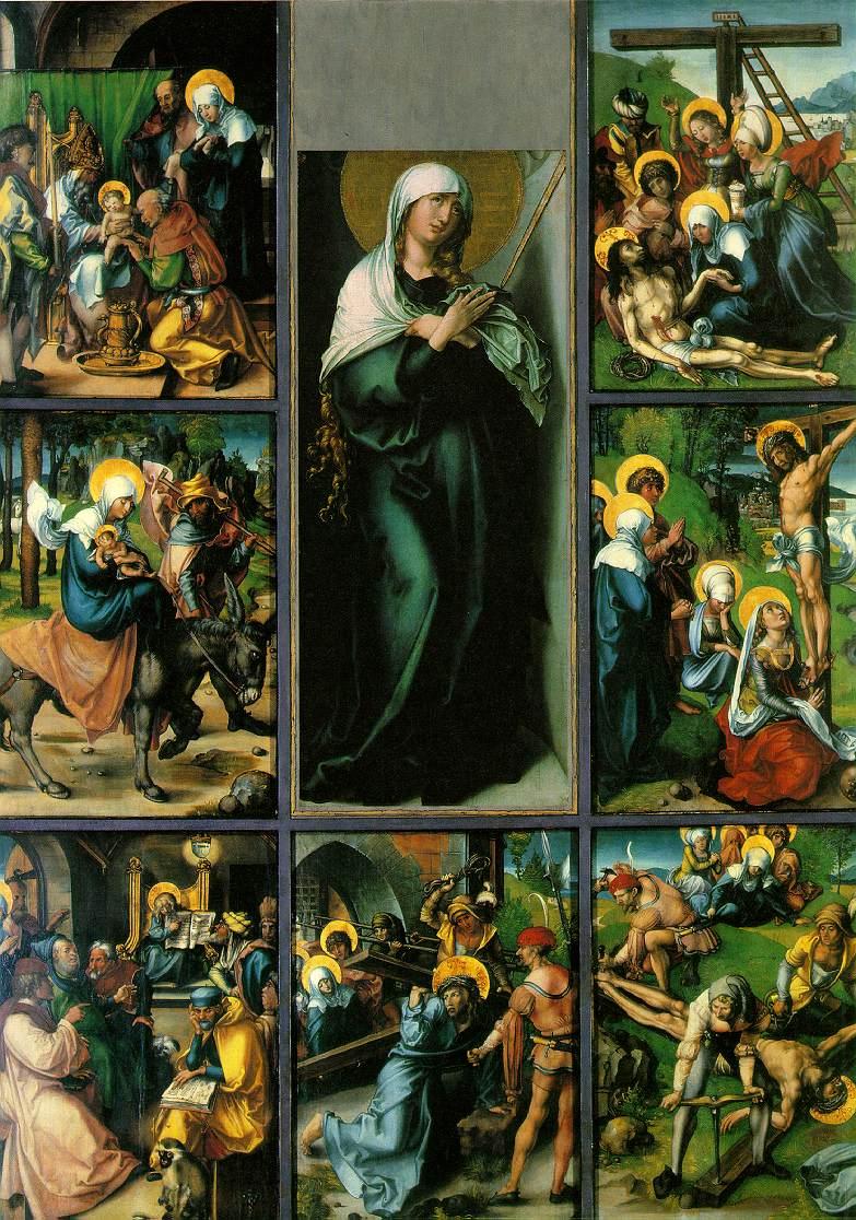 Vierge des Sept Douleurs - A.Dürer
