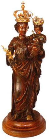 Notre-Dame de Paix (statue héritée de la famille de Joyeuse)