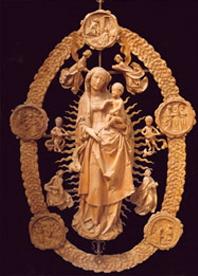 Vierge du très Saint Rosaire