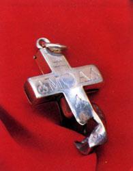 Croix de la Bienheureuse Maria Cecilia