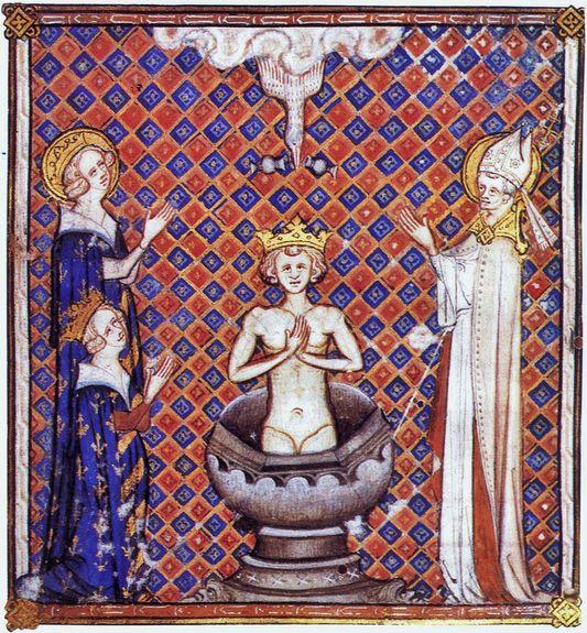 Baptême-Sacre du Roi Clovis