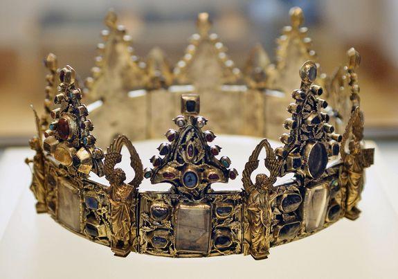 couronne-reliquaire dite de Saint Louis