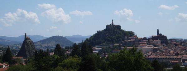 Vue générale du Puy-en-Velay