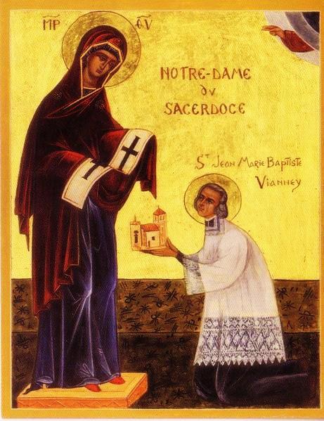 Notre-Dame du Sacerdoce, mère et reine des prêtres