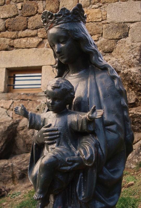 La Vierge à l'Enfant (détail)