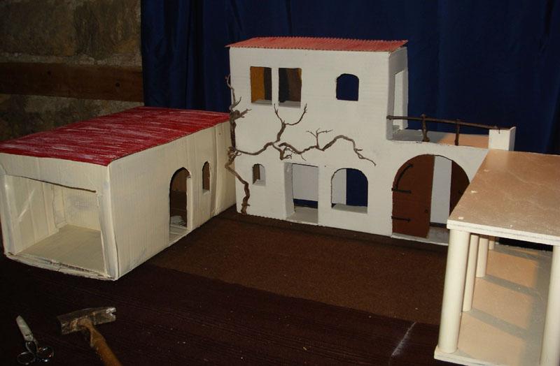 Préparation des maisons de Bethléem