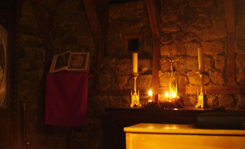 Oratoire provisoire du Mesnil-Marie