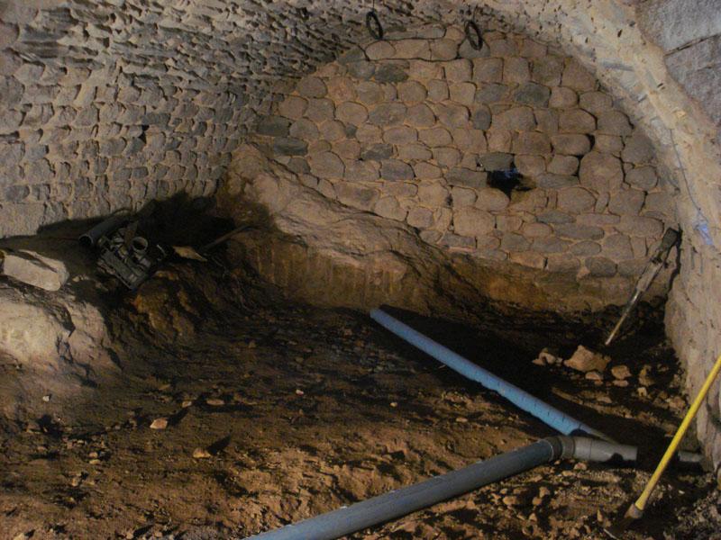 Drainage interieur maison ancienne - Impermeabiliser un mur exterieur ...