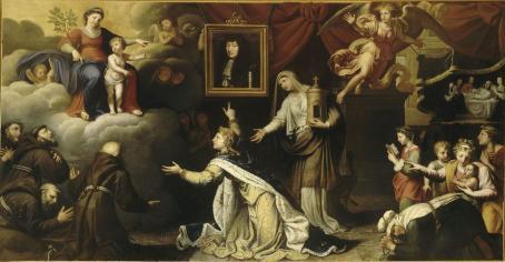 ex-voto de la guérison de Louis XIV