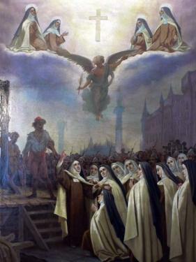 Le martyre des Carmélites de Compiègne