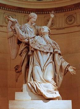 Statue de Louis XVI - Chapelle Expiatoire