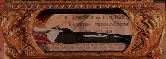 2011-2. Le 4 janvier, nous fêtons la Bienheureuse Angèle de Foligno,