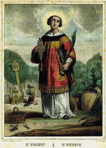 Saint Vincent diacre et martyr