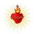 coeurdejsuscopie apparitions du Sacré Coeur dans Nos amis les Saints