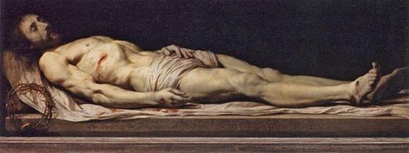 P. de Champaigne  - le Christ mort
