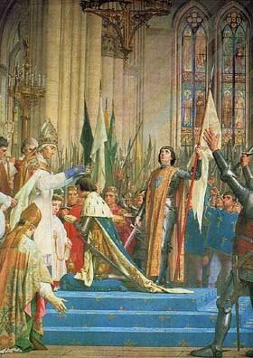 A Sainte Jeanne d'Arc : prière pour la France et cantique du Père Doncoeur. dans De liturgia