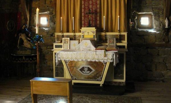 Oratoire (provisoire) du Mesnil-Marie