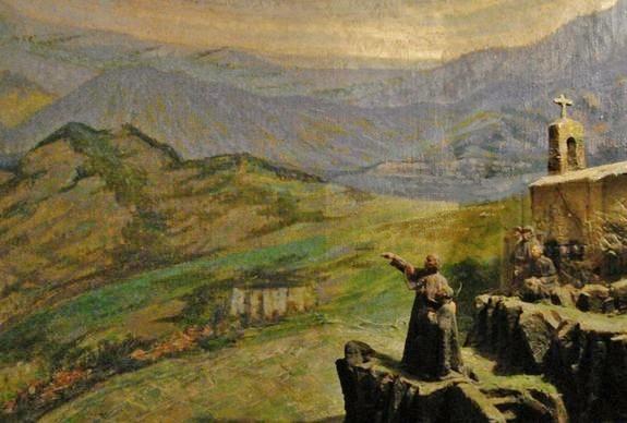 Mgr de la Baume de Suze envoie Saint Régis en mission en Vivarais