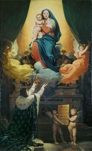 Ingres : le voeu de Louis XIII