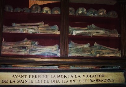 St Joseph des Carmes (Paris) reliques des bienheureux martyrs de septembre 1792