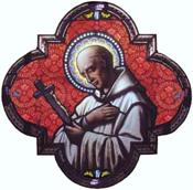 Saint Bruno (vitrail)