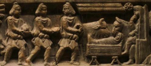 Sarcophage-saint-Maximin Noël dans Nos amis les Saints