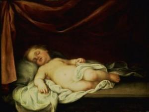 2011-94. La dernière visiteuse (conte de Noël). dans Lectures & relectures SuperStock_866-3031La-Vierge-tenant-l-Enfant-Jesus-endormi-Affiches-300x226