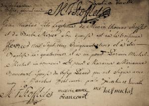 Acte-baptême-stofflet-300x213 25 février dans Memento