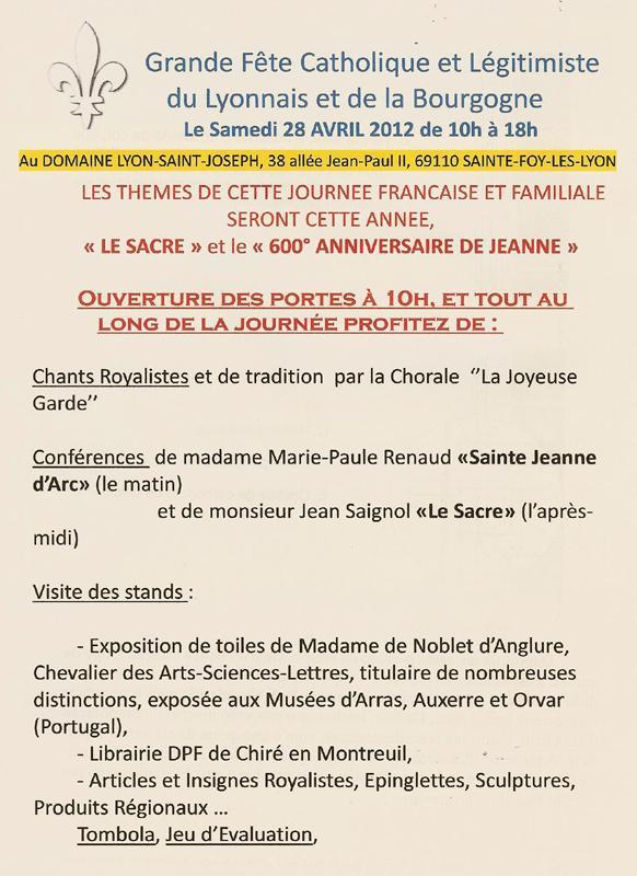 Fête-catholique-légitimiste-28-avril-2012 fête catholique et légitimiste