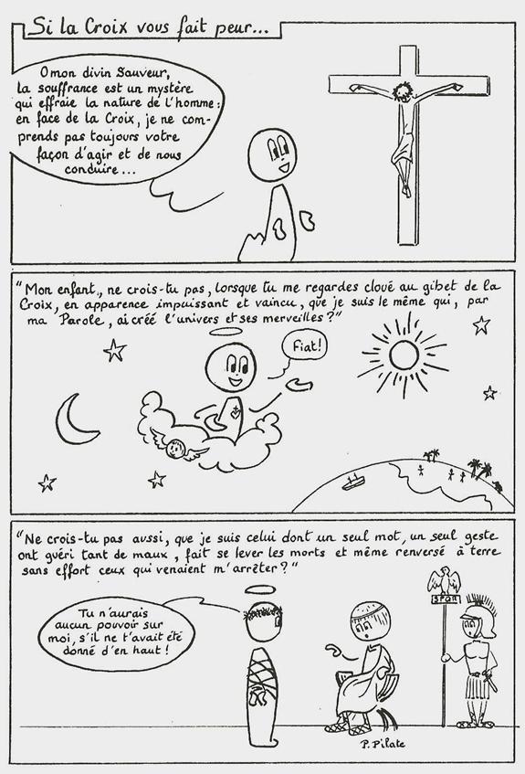 Si-la-Croix-vous-fait-peur1 bande dessinée dans De liturgia