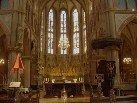 Schiedam : basilique de Sainte Lydwine (le sancturaire)