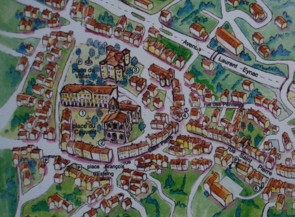 Le Monastier sur Gazeille (plan)