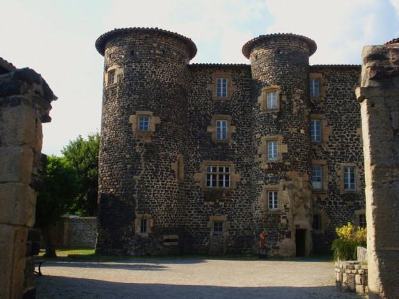 Le Monastier : château abbatial