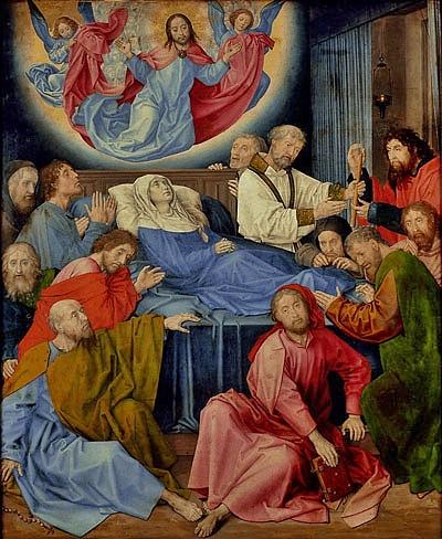 Hugo van der Goes - dormition de Notre-Dame