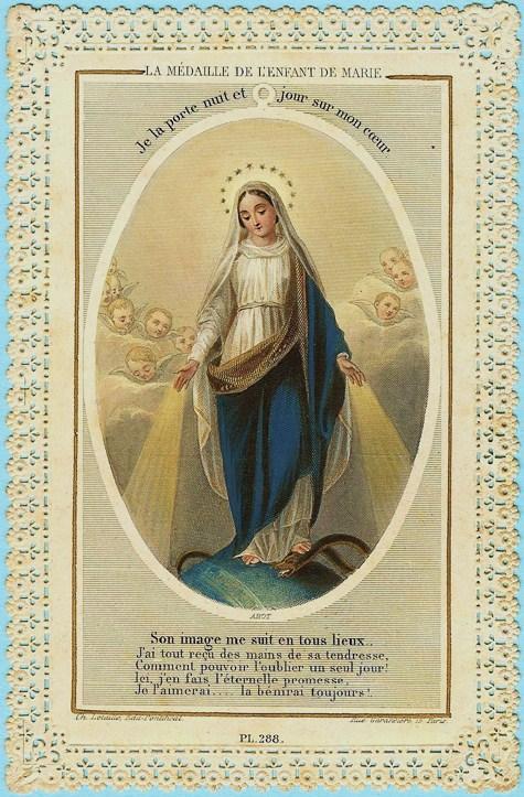 Acte de donation à la Très Sainte Vierge Marie. dans De Maria numquam satis limage-de-marie-copie