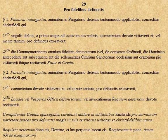 indulgences-pour-les-defunts 2 novembre dans Lectures & relectures