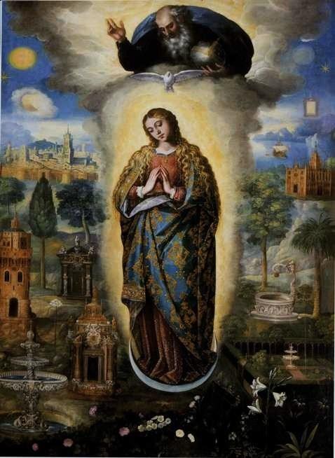 Neuvaine de l'Immaculée Conception. dans De Maria numquam satis miquel-bestard-i-cirer