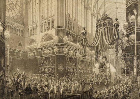 Pompe funèbre du 20 janvier 1816 à Saint-Denis