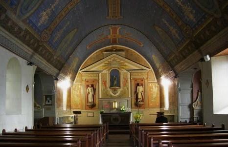 2013-8. De l'apparition de la Très Sainte Mère de Dieu et notre Mère à Pontmain, le soir du 17 janvier 1871. dans De Maria numquam satis pontmain-eglise-paroissiale