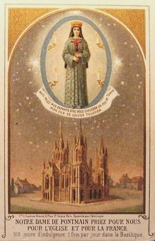 pontmain-image-devotion 17 janvier 1871 dans De Maria numquam satis