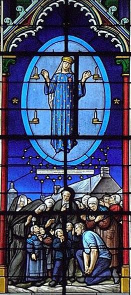 pontmain-phase-3-de-lapparition Notre-Dame