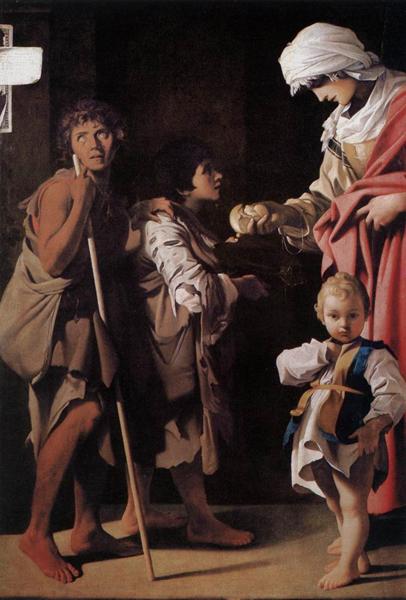 Bartolomeo Schedoni La charité 1611 Napoli