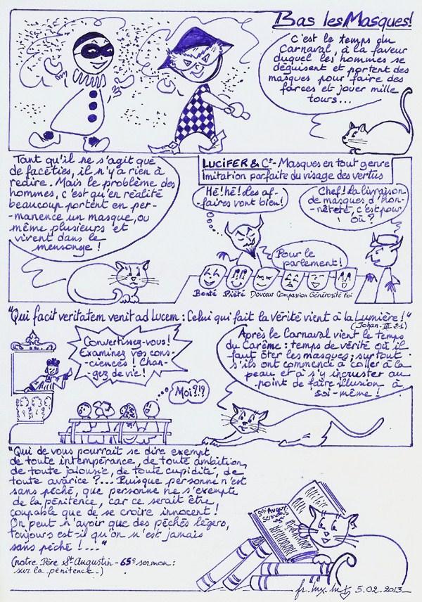 2013-18. Bas les masques! dans Bandes dessinées bas-les-masques-bd